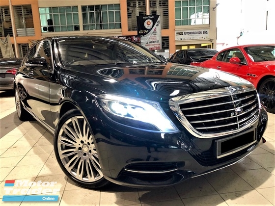 2016 MERCEDES-BENZ S-CLASS S400H 3.5 (A) LOCAL LUXURY FULL SPEC UNDER WARRANTY