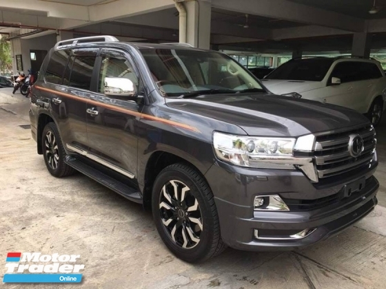 2016 TOYOTA LAND CRUISER ZX unreg V8 4.6 petrol high spec MPV pickup