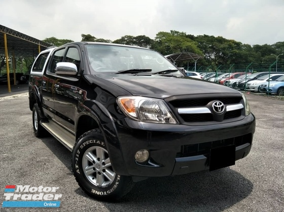 2010 TOYOTA HILUX TOYOTA HILUX  2.5 G (A) CAR KING NON OFF ROAD CAR !!