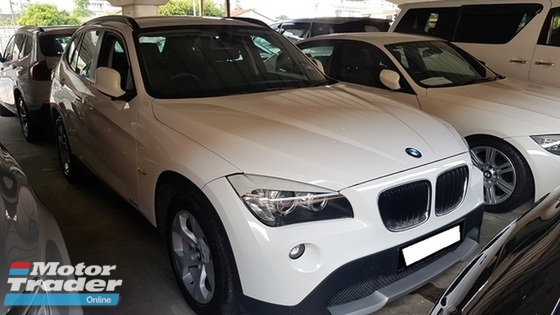 2011 BMW X1 SDRIVE18I (A) REG 2011, CKD, ONE CAREFUL OWNER, 2 ELECTRIC SEAT, LEATHER SEAT, SELDOM USE, LOW MILEAGE DONE 94K KM, FULL SERVICE RECORD, 17\