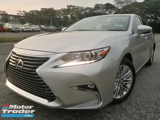 2015 LEXUS ES250 2.5 (A) V6 PREMIUM EDITION FACELIFT NAVI GPS SUNROOF LEATHER SEATS