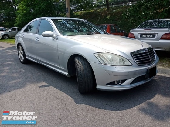 2007 MERCEDES-BENZ S-CLASS 350 (A) ONE LADY OWNER TIPTOP
