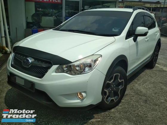 2014 SUBARU XV STI PERFORMANCE EDITION REG 2015 -F/SERVICES RECORD