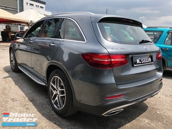 2016 MERCEDES-BENZ GLC 250 2.0 (A) CBU AMG MILE 20K