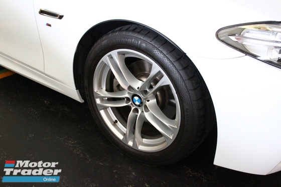 2014 BMW 5 SERIES 528I 2.0 M-SPORT TURBO FACELIFT -UNREG-