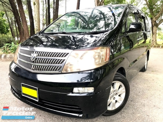 2004 TOYOTA ALPHARD 3.0 MZG POWER DOOR P/ BOOT GRADE A