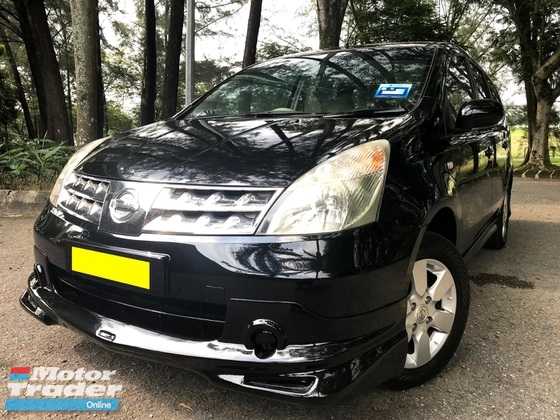 2010 NISSAN GRAND LIVINA 1.6L IMPUL (A) LUXURY FULL LOAN