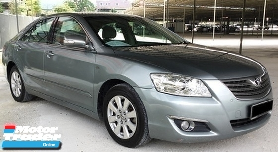 2008 TOYOTA CAMRY 2.0 (A) LEATHER SEAT ORIGINAL SPEC ORIGINAL COLOR NO MODIFY ALL WORKING CONDITION (LOAN / CREDIT ) AVAILABLE