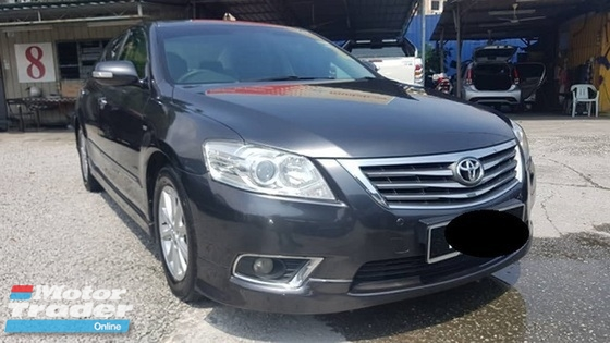 2012 TOYOTA CAMRY 2.0 G (A) Imported (CBU) Model