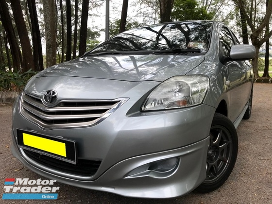 2013 TOYOTA VIOS 1.5 (AT) NEW FACE LIFT (A) TRD AEROKIT SALE