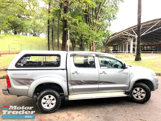 2012 TOYOTA HILUX DOUBLE CAB 2.5G (AT) D-4D TURBO FREE CANOPY