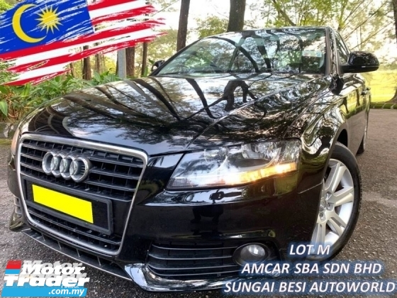 2008 AUDI A4 1.8 TFSI B8 SE LOW MILEAGE 60K KM 1 DIRECT OWNER