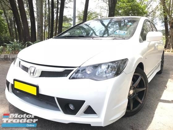 2011 HONDA CIVIC 1.8S i-VTEC FACE LIFT (A) RR KIT LEATHER