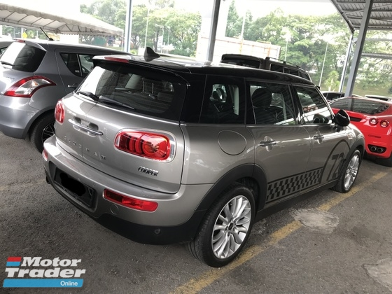 2016 MINI Clubman MNI COOPER CLUBMAN 1.5 WARRANTY TILL 2020 LIKE NEW CAR NO GST NO SST