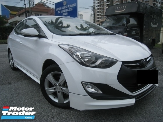 2013 HYUNDAI ELANTRA 1.6 A SPORT EDITION SPEC VERY GOOD CONDITION LUCKY DRAW PROMOTION