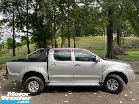 2011 TOYOTA HILUX DOUBLE CAB 2.5G (MT) TURBODIESEL NO OFF ROAD