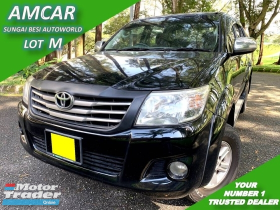 2012 TOYOTA HILUX DOUBLE CAB 2.5G (AT) NEW FACE LIFT 4WD