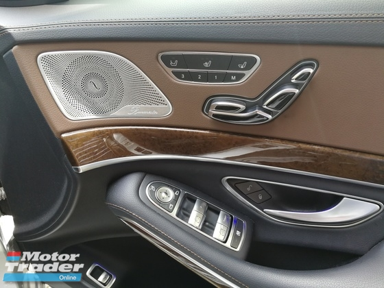 2016 MERCEDES-BENZ S-CLASS S400L