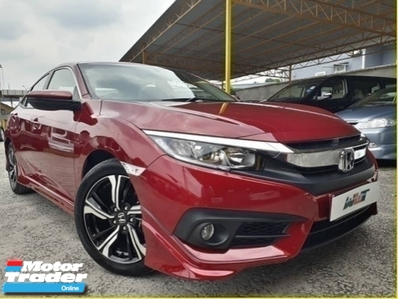 2016 HONDA CIVIC 1.5 (A) TURBO 1 OWNER SUPER LOW MILEAGE FULL BODYKIT WARRANTY BY HONDA PROMOTION PRICE \