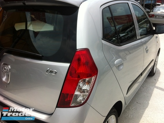 2010 HYUNDAI I10 Auto.One Lady Owner,Power Steering,Sport Rim,Accident Free…..