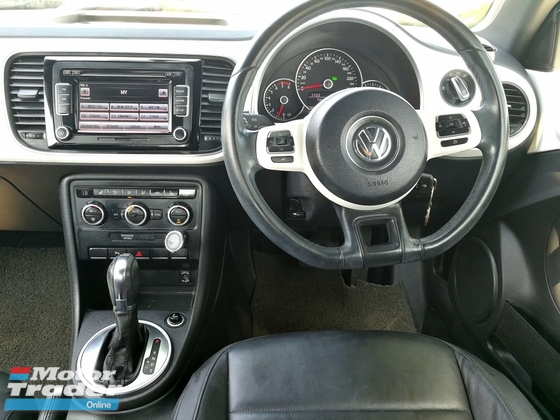 2013 VOLKSWAGEN BEETLE 1.2(A)~~ LADIES OWNER TIPTOP LIKE PRETTY