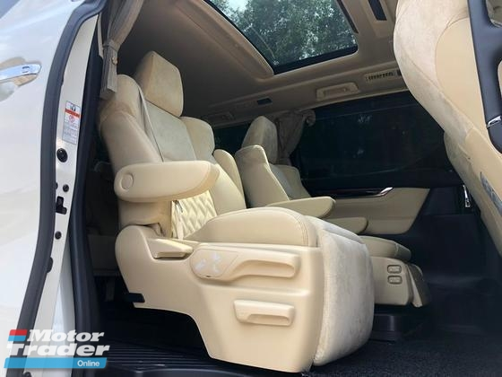 2015 TOYOTA ALPHARD 3.5 GF WELCAB FULL PACK