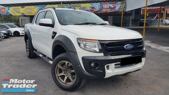 2014 FORD RANGER 3.2 XLT WILDTRACK (AT) / CAR KING CONDITION / NON OFF ROAD / POWERFUL ENGINE / ACCIDENT FREE /