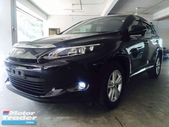 2015 TOYOTA HARRIER Full View P/ROOF FREE WARRANTRY