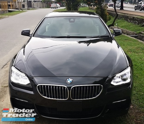 2015 BMW 640i 2015 BMW 640i M-SPORT GRAN COUPE 3.0 TWIN POWER TURBO UNREG CAR SELLING PRICE ONLY RM 368,000.00
