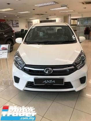 2019 PERODUA AXIA AXIA 1.0 G (FAST STOCK)