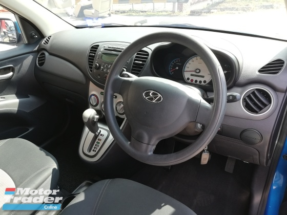 2009 HYUNDAI I10 1.1 auto