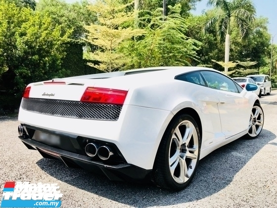 2011 LAMBORGHINI GALLARDO LP560-4 5.2 V10 FROM LAMBORGHINI MY
