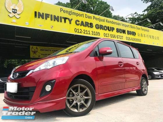2018 PERODUA ALZA 1.5 ADVANCED LEATHER SEAT, FULL SERVICE RECORD PERODUA UNDER WARRANTY
