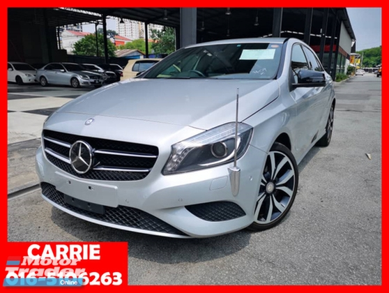 2013 MERCEDES-BENZ A-CLASS A180 SE EDITION EXCLUSIVE WITH MEMORY SEAT (UNREG)