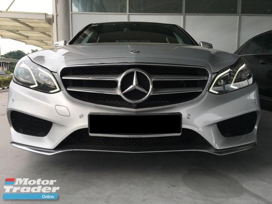 2016 MERCEDES-BENZ E-CLASS 2016 Mercedes-Benz E250 2.0 Edition E AMG S