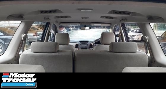 2009 TOYOTA INNOVA 2.0G ( A ) VVT-I NEW FACELIFT !! COMES WITH FULL BODYKIT !! 7 SEATER SUV !! PREMIUM HIGH SPECS !! ( WXX 8388 ) 1 CAREFUL OWNER !!