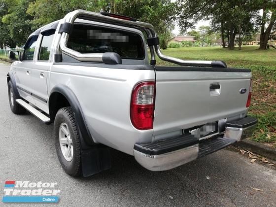 2007 FORD RANGER 2.5 XL TDI 4X2 DOUBLE CAB