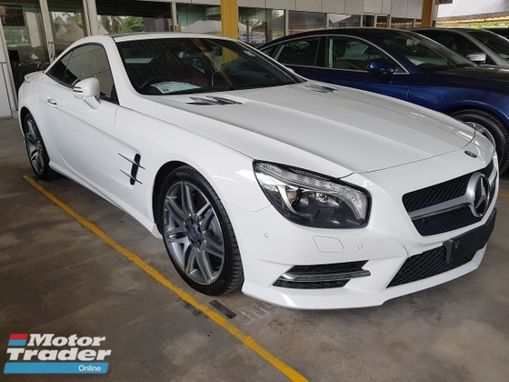 2015 MERCEDES-BENZ SL-CLASS 400 AMG 3.0 SUPER RARE PANORAMIC ROOF MEMORY SEAT Unregistered