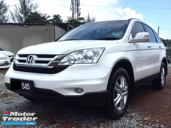 2011 HONDA CR-V 2.0 iVTEC (AT) REVERSE CAMERA NICE REGISTRATION NUMBER