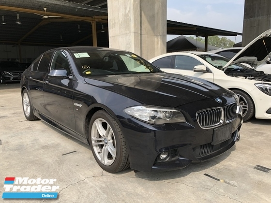 2014 BMW 5 SERIES Unreg BMW 520i 2.0 Turbo Camera M Sport Bodykit Keyless 8speed