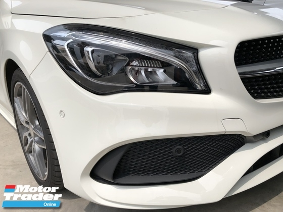 2017 MERCEDES-BENZ CLA Unreg Mercedes Benz CLA180 AMG 1.6 Turbo Camera Keyless Push Start 7Speed Nice