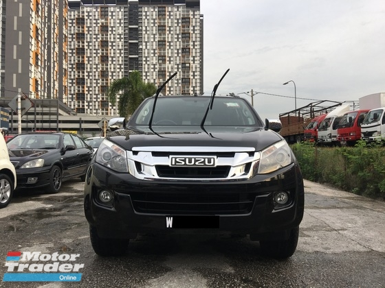 2016 ISUZU D-MAX 2.5 (A) SPECIAL PROMOTION ** EXCELLENT CONDITION ** FULL LOAN AVAILABLE **