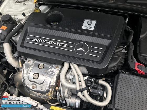 2014 MERCEDES-BENZ CLA 45 AMG 2.0T 4MATIC 9k Mileage ONLY Sunroof Harman Kardon Sound System