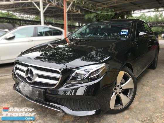 2017 MERCEDES-BENZ E-CLASS Local E250 Exclusive 13K Mil Under Warranty