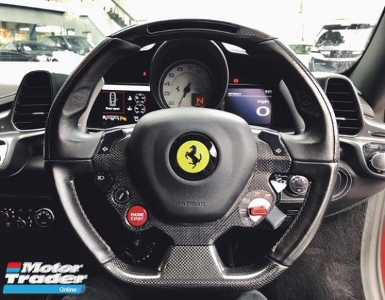 2010 FERRARI 458 ITALIA 4.5 V8 WELL MAINTAINED
