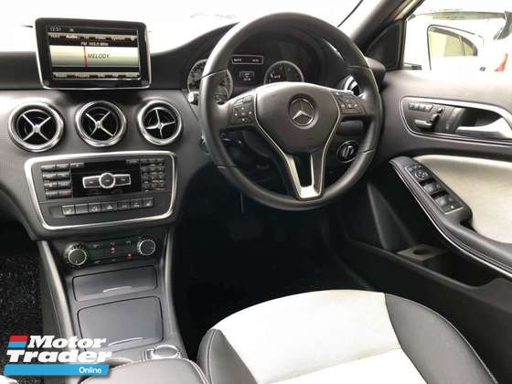 2014 MERCEDES-BENZ A-CLASS A180 1.6L EXCLUSIVE EDITION TWO TONE *UNREG*