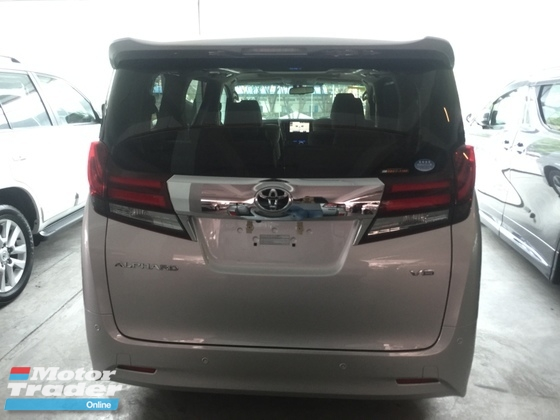 2016 TOYOTA ALPHARD 3.5cc GF SPEC WEL CHAIR UNREG