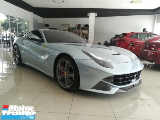 2013 FERRARI F12 BERLINETTA 6.3 (A) LOCAL SPEC 1 VVIP OWNER
