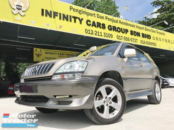 2003 TOYOTA HARRIER 300G PREMIUM L PACKAGE LEATHER SEAT, PUSH START PROMOTION TO SELL