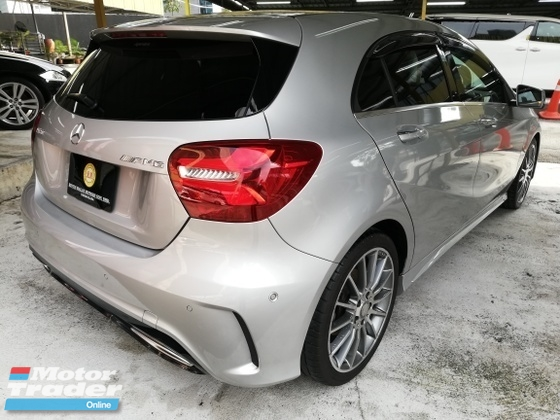 2016 MERCEDES-BENZ A-CLASS A180 AMG 1.6 TURBO